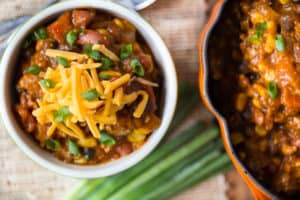 Chicken and Black Bean Pumpkin Chili