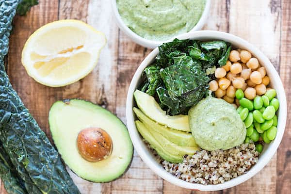 Green Goddess Quinoa Bowls | Healthy Weekly Meal Plan