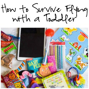 How to Survive Flying with a Toddler