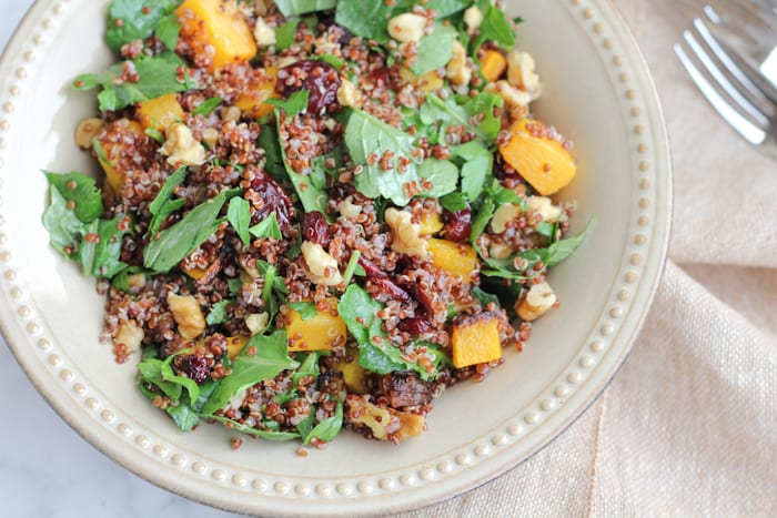 red-quinoa-butternut-squash-and-kale-salad_closeup-hipfoodiemom-com_