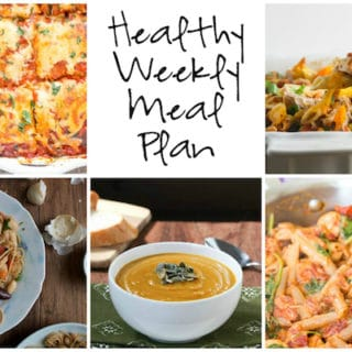 Healthy Weekly Meal Plan Week of 10.15.16