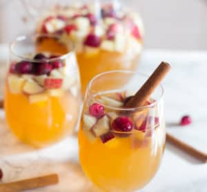 Apple Cider Bourbon Sangria