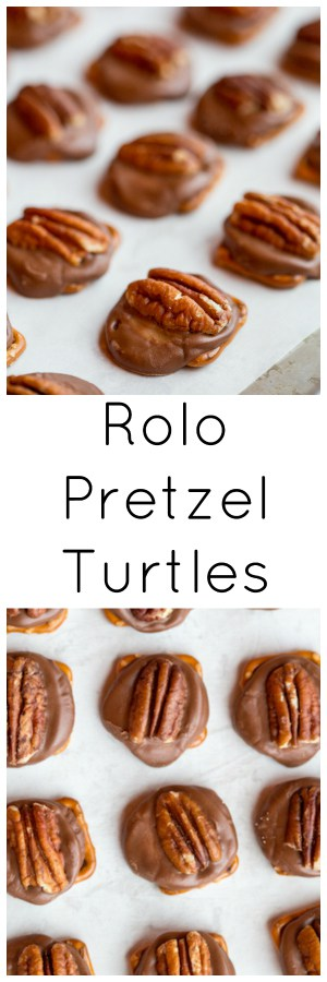 Rolo Pretzel Turtles super long collage with text overlay