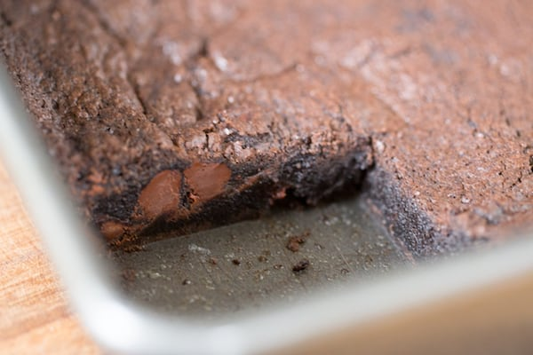Brown Butter Dark Chocolate Brownies
