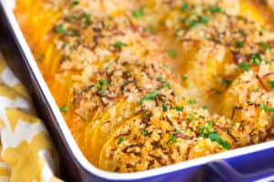 Crunchy Honey Butternut Squash Casserole Another Beautiful Closeup