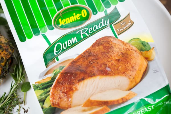 Herb Butter Roasted Turkey Breast Jennie-O Oven Ready Product