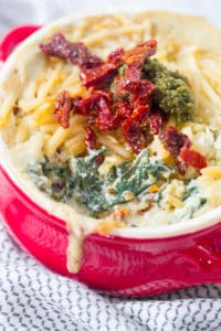 Pesto Sun Dried Tomato Spinach Dip - the Best Dip of All Times