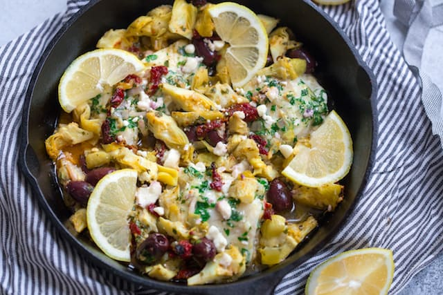 Mediterranean Baked Cod