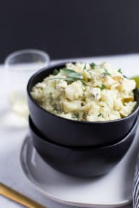 Pear and Gorgonzola Risotto