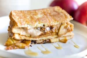 Apple Cheesecake Stuffed French Toast