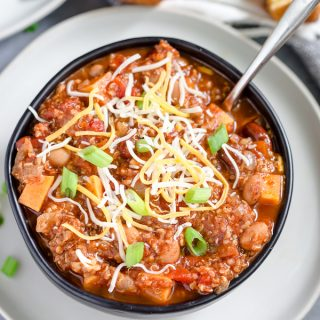Instant Pot Turkey Quinoa Chili