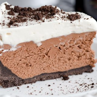 No Bake Bailey's Cheesecake