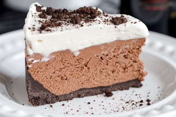 No Bake Bailey's Cheesecake with Bailey's Whipped Cream