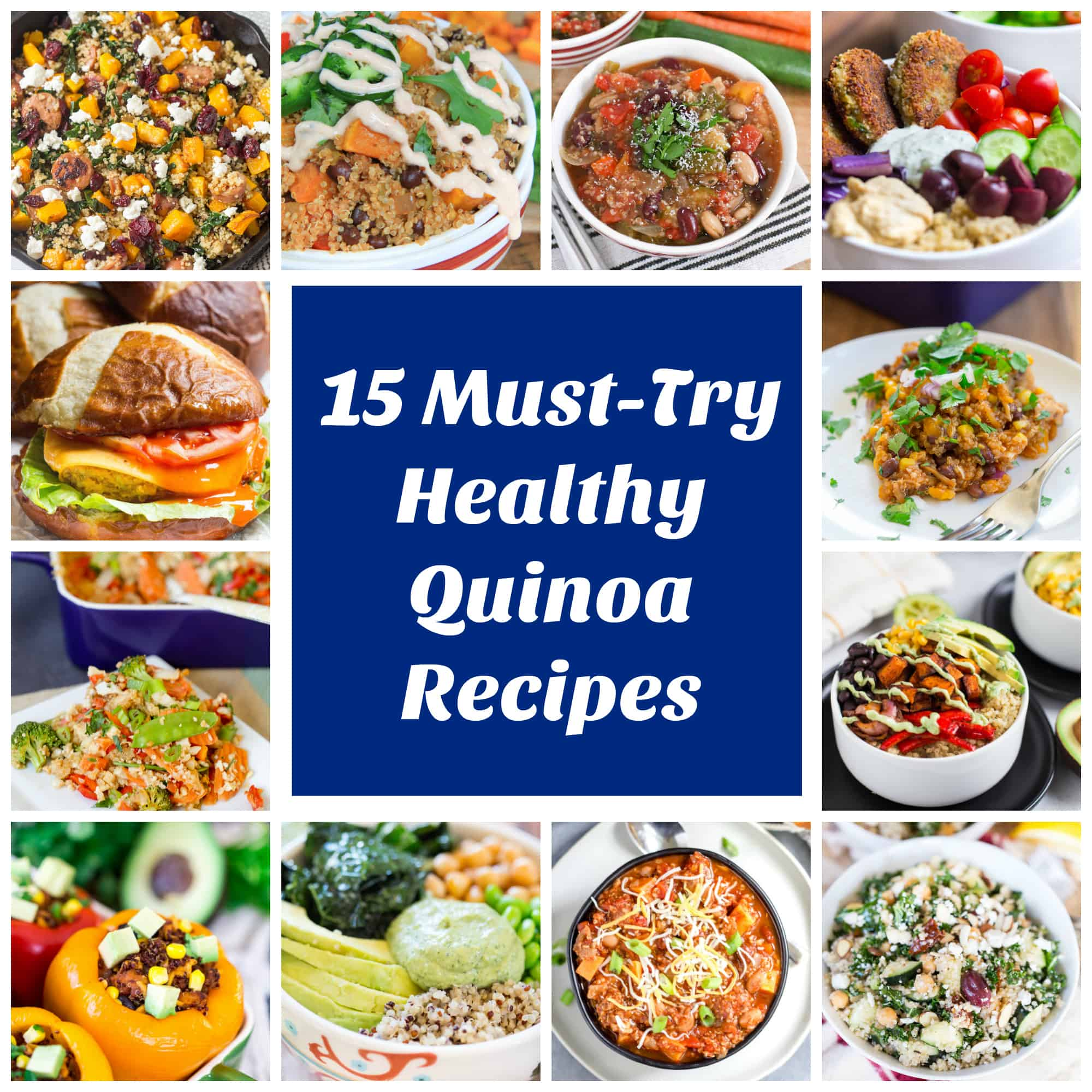 15 Must Try Healthy Quinoa Recipes