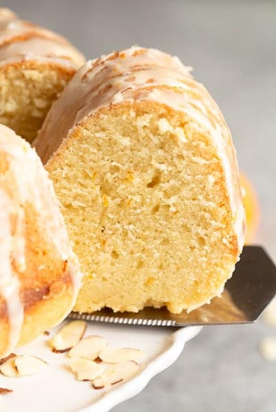 Almond Citrus Bundt Cake