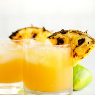 Grilled Pineapple Margaritas