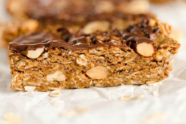 No Bake Oat Nut Bars