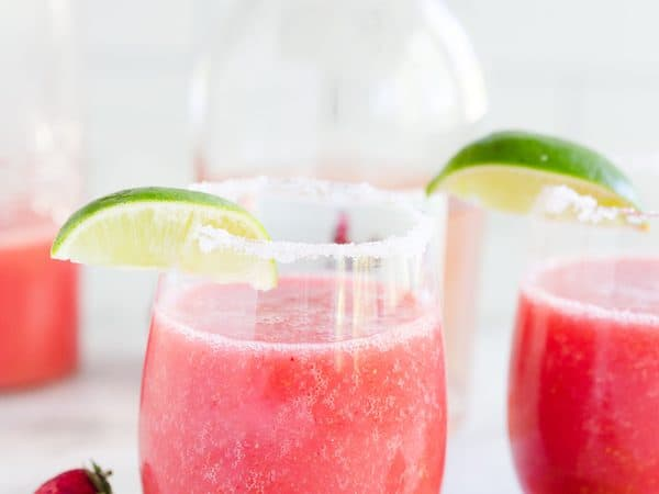 Strawberry Frosé Margaritas