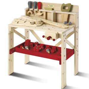 Wood Toy Work Bench