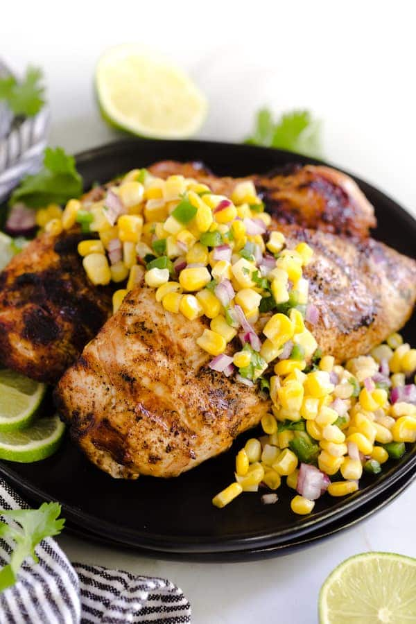 Grilled Chili Lime Turkey Breasts
