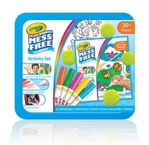 Mess Free Coloring Book