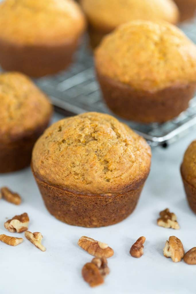 Perfect Butternut Squash Muffins