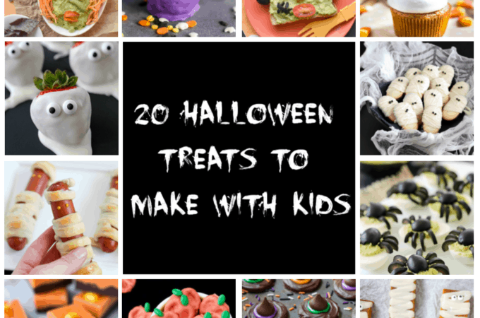 Halloween Treats to Make with Kids