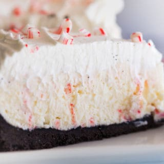 no bake peppermint cheeescake