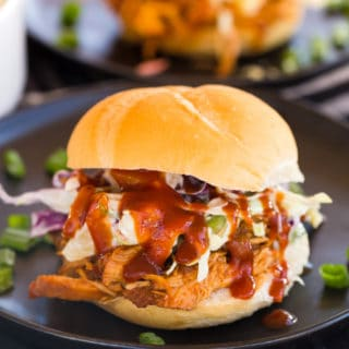 Slow Cooker Caribbean BBQ Chicken