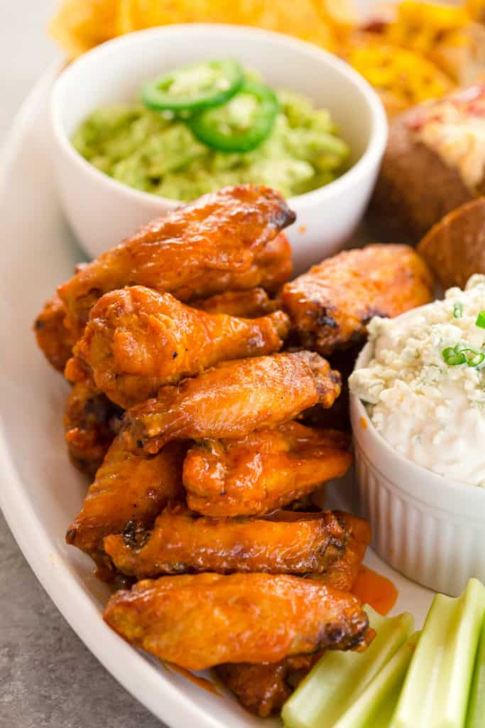 Air Fryer Buffalo Chicken Wings