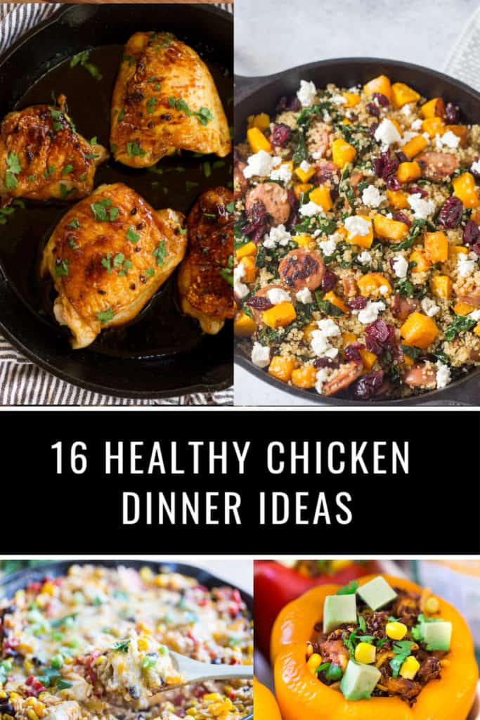 Healthy Chicken Dinner Ideas
