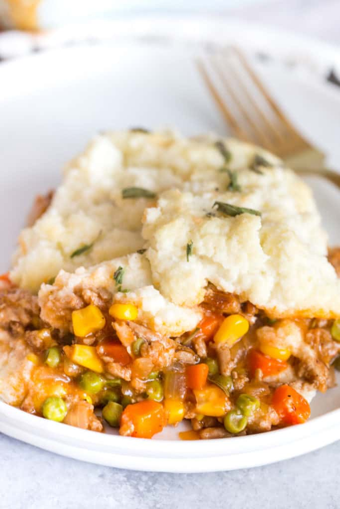 Turkey Shepherd's Pie with Cauliflower Mash