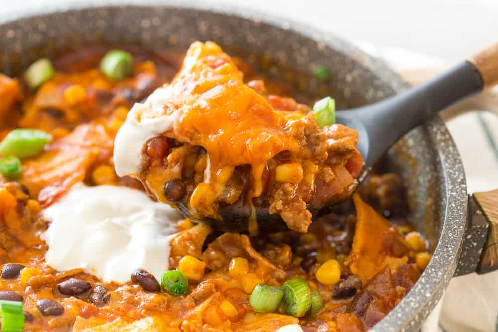 Turkey Enchilada Skillet