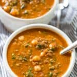 Roasted Red Pepper Lentil Soup