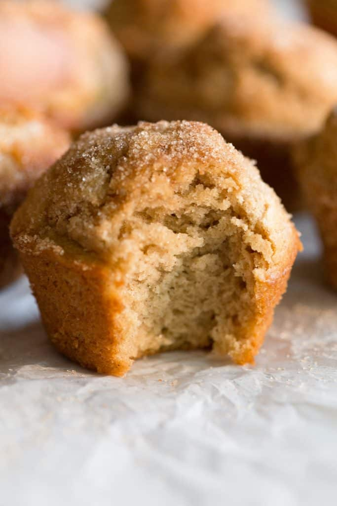 Maple Donut Muffins