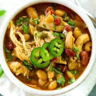 Instant Pot Tomatillo Chicken Chili
