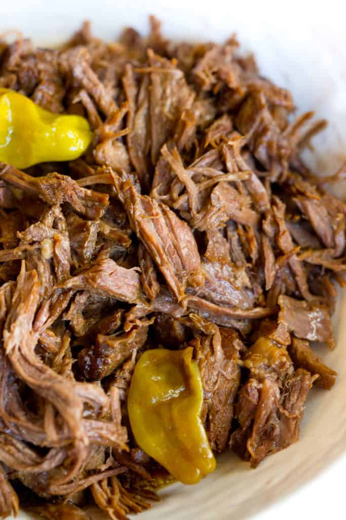 Mississippi Pot Roast in the Instant Pot