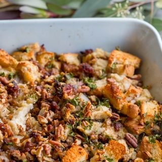 Sausage Apple Pecan Stuffing