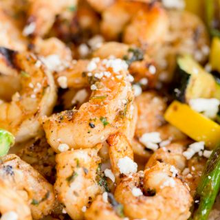 Grilled Mediterranean Shrimp